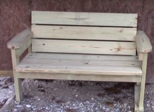 Garden Bench Woodworking Plans for a Designer Garden Look