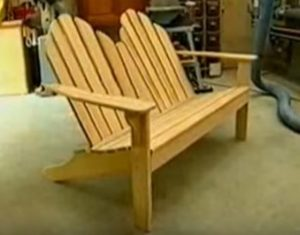 tete a tete adirondack chairs woodworking plans love seat