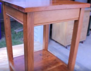 bedside table woodworking plans