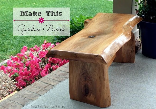 Diy Garden Bench Woodwork Projects Plans
