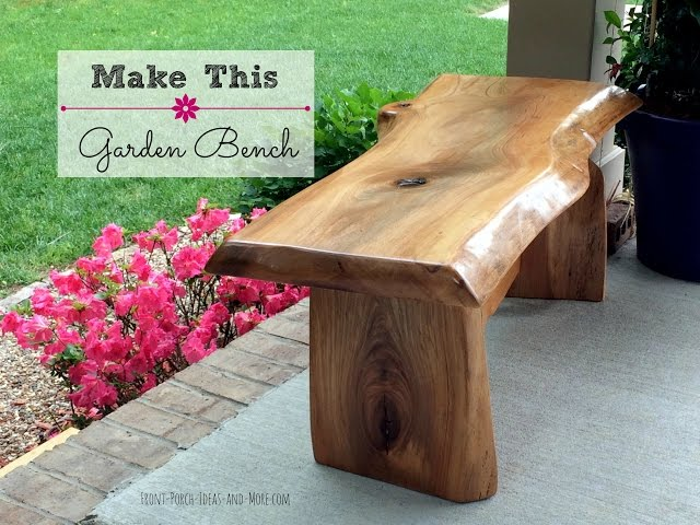 Easy Wood Project Plans For Beginners How To Build A Garden Bench