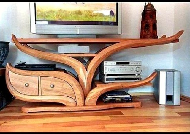 Over 20 Creative Wood Furniture Ideas 2016 Chair Bed