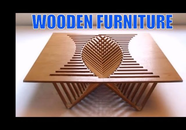 WOODEN FURNITURE 100 Creative WOOD Furniture