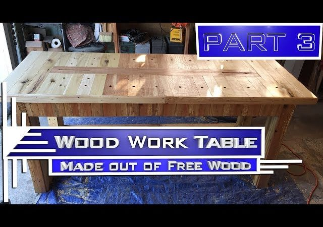 P J Galati Woodwork Table Part 3 Episode 003c Free Wood Table